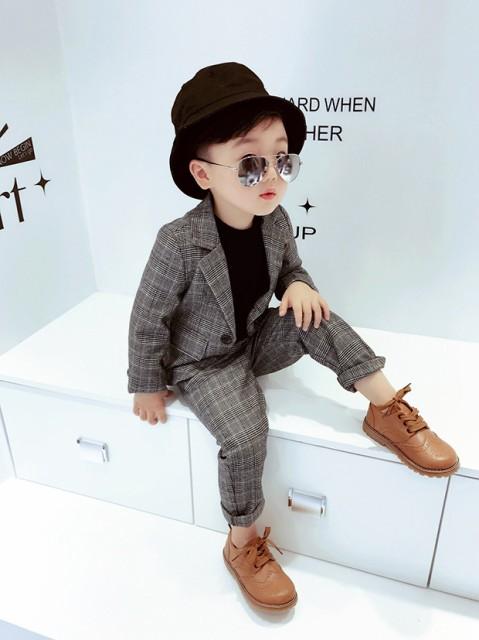 キッズスーツ 男の子 子供服 2-7歳 リングボ...
