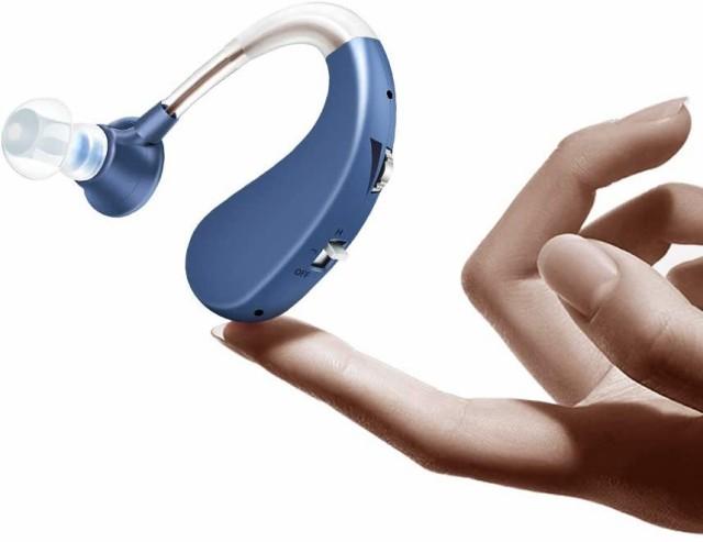 集音器 高齢者集音器 充電式 左右両用 耳かけ 軽...