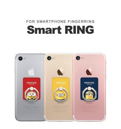 スマホリング ミニオンズ iPhone Galaxy  Xperi...