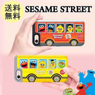 セサミストリート バス SESAME STREET iPhoneX ...