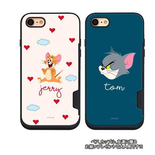 トムとジェリー カード収納 iPhoneX iPhone7/i...