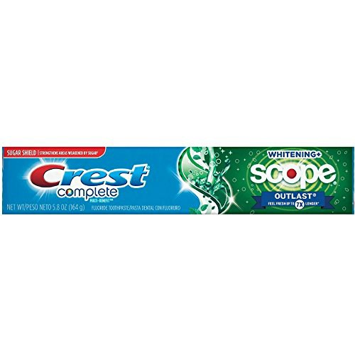 Crest Complete Whitening Scope Outlast 5.8 oz ...