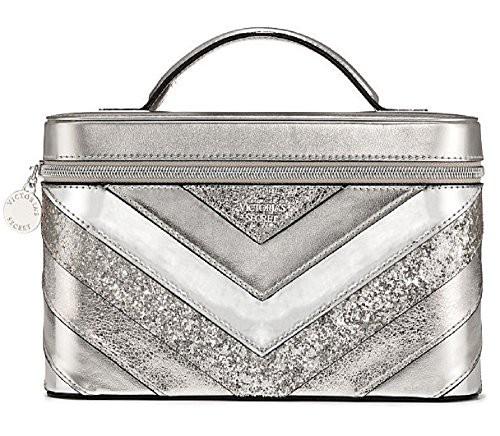 Victoria's Secret Silver V-Quilt Vanity Train ...
