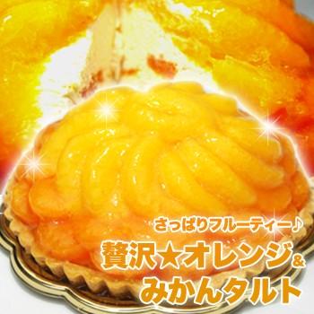 さっぱりフルーティー オレンジ&みかんタルト≪...