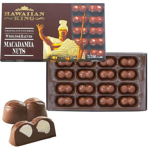 ハワイアンキングマカダミアナッツチョコレー...