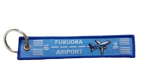 フライトタグ 福岡空港 Ver. FUK BASE AIRPORT 青...