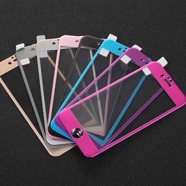 iphone5/6/7/8/plus 全面保護 3D 曲面 フルカバー...