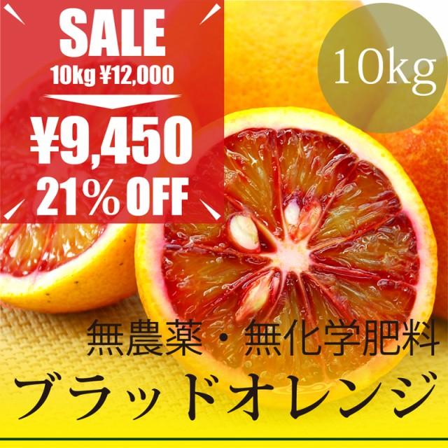 無農薬・無化学肥料 樹上完熟 ブラッドオレンジ 1...
