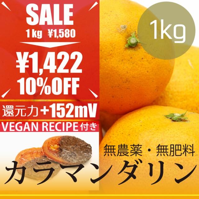 【今だけ10%OFF】カラマンダリン 1kg 自然栽培(...