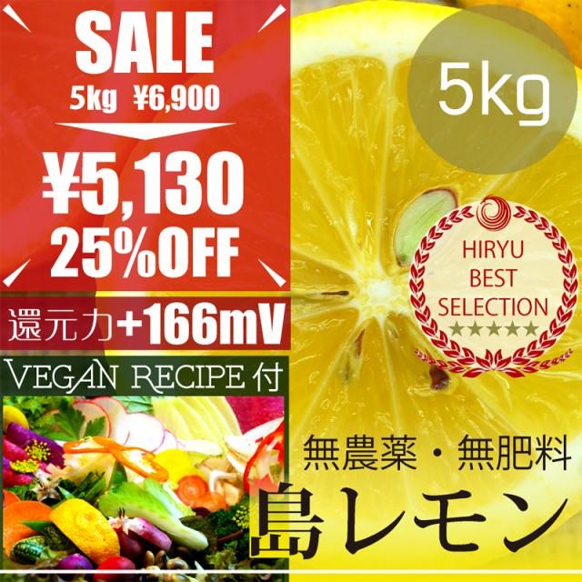 島レモン5kg 自然栽培(無農薬・無肥料) レモンド...