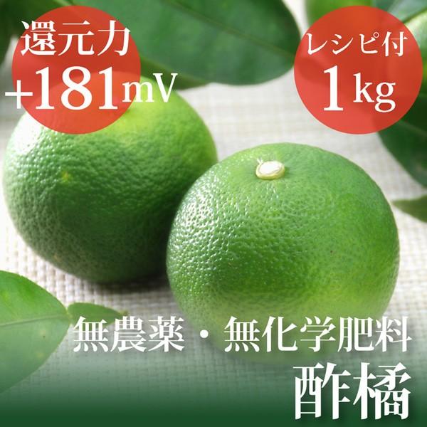 すだち 1kg ヴィーガンレシピ付き 無農薬・無化学...