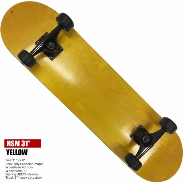 スケートボード 31インチ YLW NEW STREET MOVE 31...
