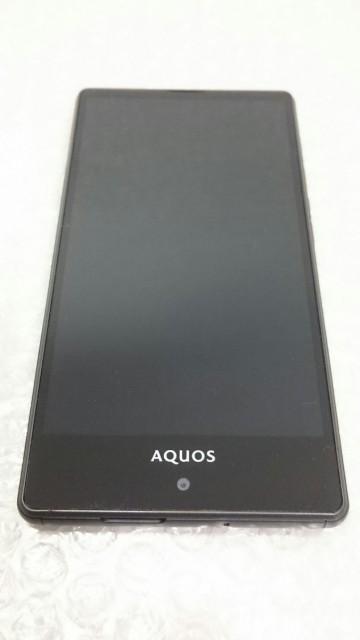 【送料無料】SHARP au AQUOS SERIE mini SHV33 ブ...