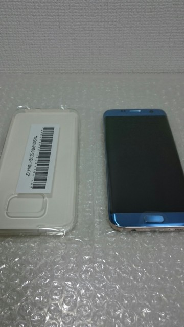 【ほぼ新品・送料無料】docomo Galaxy S7 edge SC...