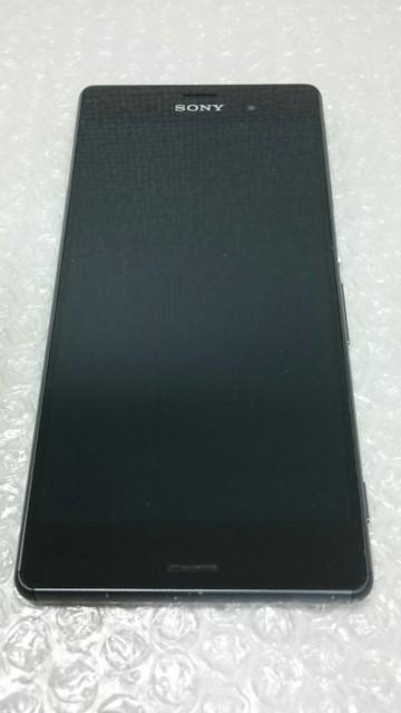 【送料無料】SONY au Xperia Z3 SOL26 Black 本体...