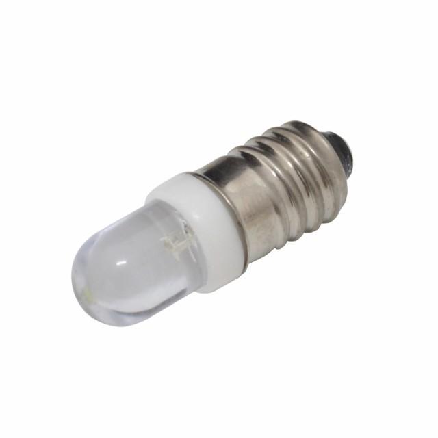 4990(1個) E10 豆電球 LED 3V CoolWhite [OPDY-W5...