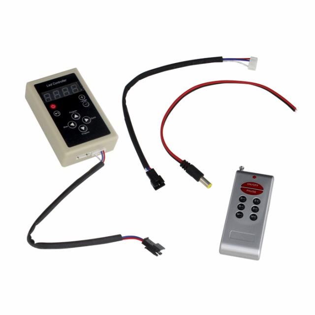 Kaito6919(1個) RGB 流れるLED用 コントローラ 13...