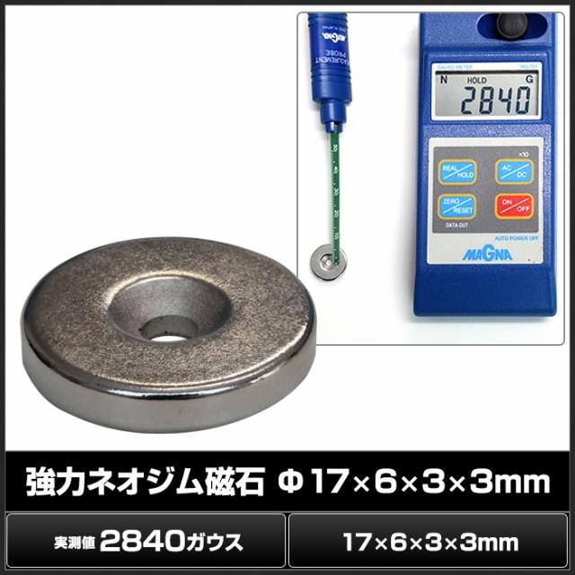 Kaito7147(10個) 強力ネオジム磁石 17×6×3×3mm...