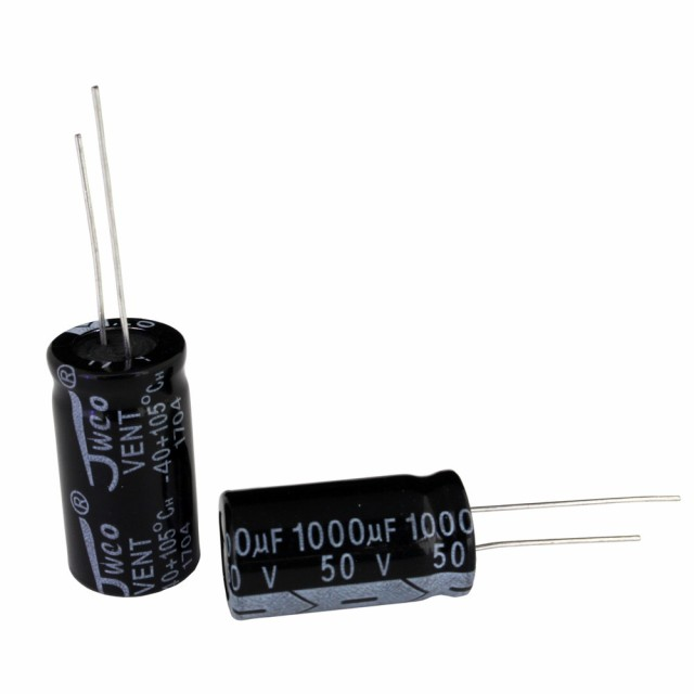 [s136] 電解コンデンサー 50V 1000uF 13x25 [JWCO...
