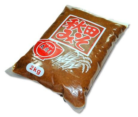秋田 角館 安藤醸造 うす塩味噌蔵歳月味噌2kg...