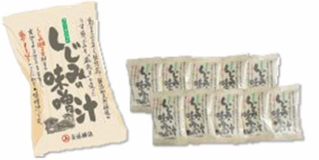 秋田 角館 安藤醸造 しじみの味噌汁 10個入れ...