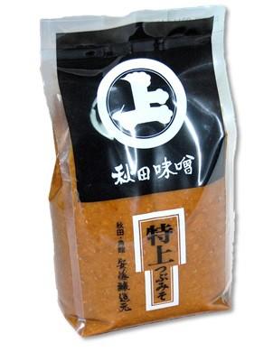 秋田 角館 安藤醸造 特上つぶみそ1kg【クール...