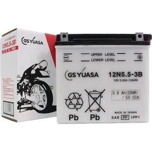 12N5.5-3B(12V5.5Ah)各メーカー共通品番GSユアサ...