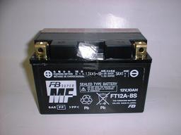 FT12A-BS(YT12A-BS)電圧:12V。容量:10Ah(10HR) バ...