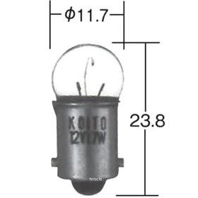 白熱バルブ 6V1.5W G10 1箱 10個入り 小糸製作所 ...