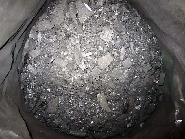 北海園芸 土壌用粉炭 北海道産 50L