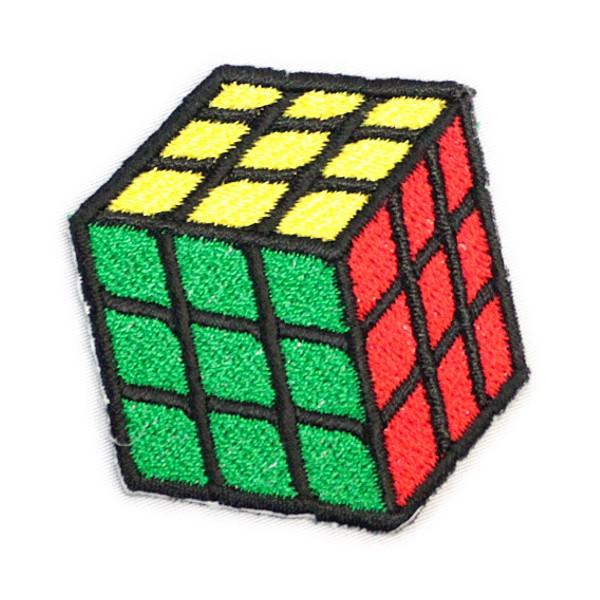 ワッペン アイロン Rubik's Cube ルービック...