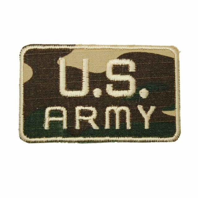 ワッペン アイロン U.S.ARMY アップリケ わっ...