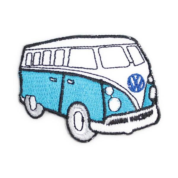 ワッペン アイロン Volkswagen(スカイブルー)...