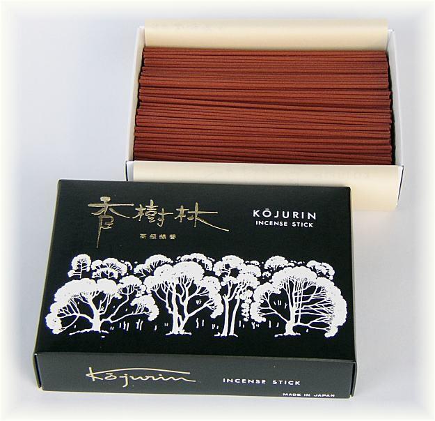 線香 香樹林 大バラ [黒箱][約195g入][伝統・香木...