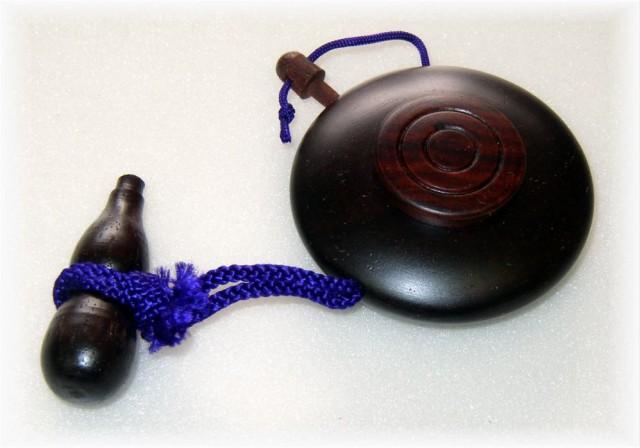 塗香入れ紫檀 (大)一寸八分