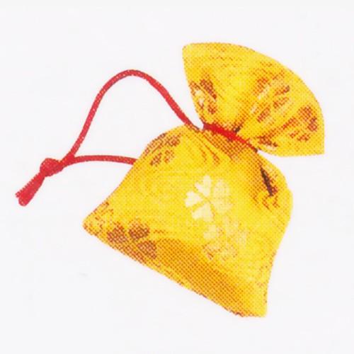 花小袖 匂袋 金欄 中型 金襴 / 匂い袋 香り袋 和...