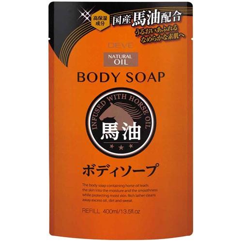 熊野油脂 ディブ 馬油ボディソープ 詰替 400ml 24...
