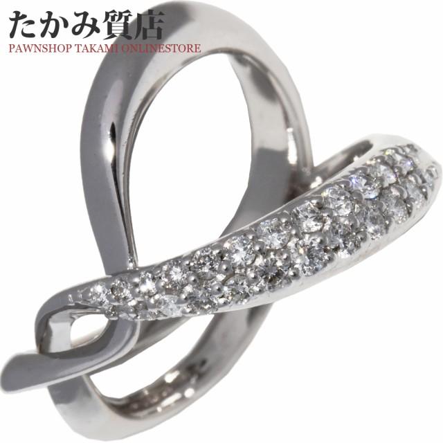 K18WG ダイヤ0.30ct 指輪(リング) 11号