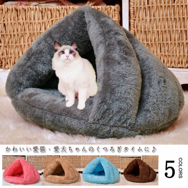 ペット用品犬猫クッションベッド動物モチーフボ...