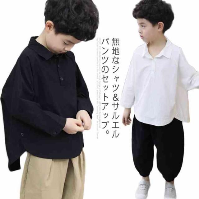 2点セット セットアップ 男の子 長袖 キッズ服 シ...