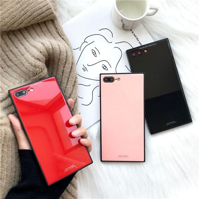 即納★送料0★ミラー シンプル スクエア iPhone6 ...
