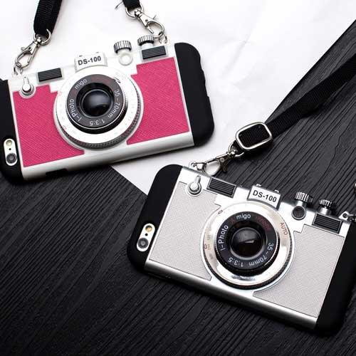 かわいいカメラ型スマホiPhoneケース   iPhone6 i...