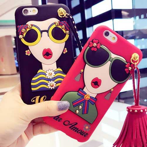 サングラスレディiPhoneケース   iPhone6 iPhone6...