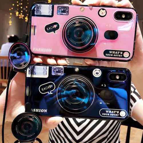 カメラ型グリップソケットトックiPhoneケース   i...