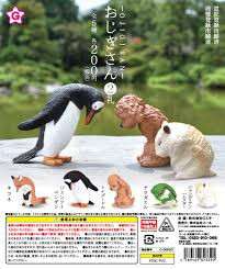 【送料無料】 おじぎさん 2礼 全5種セット ガ...