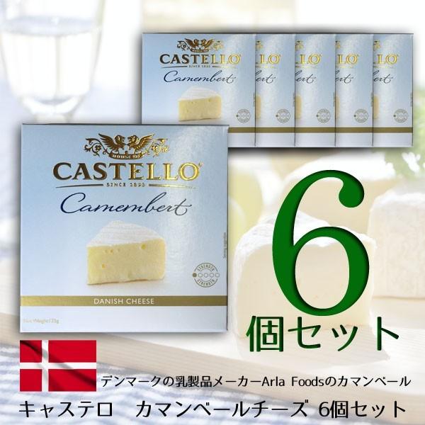 カマンベール チーズ 6個セット