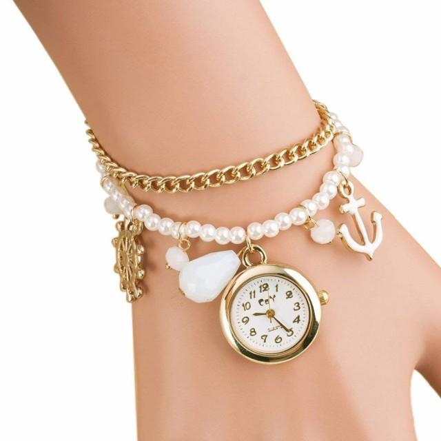 腕時計 かわいい レディース 5色 人気 クォ...
