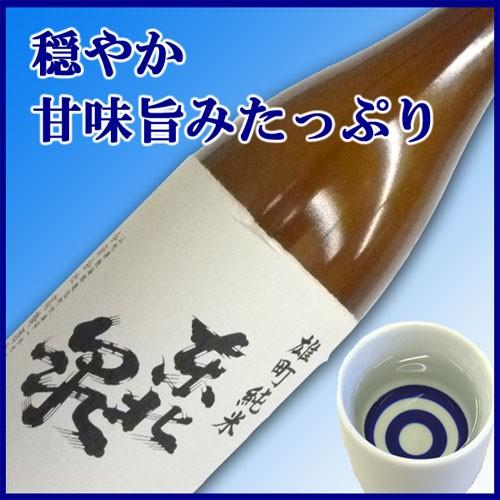 【飽海郡遊佐町:高橋酒造店】東北泉 純米出羽の...