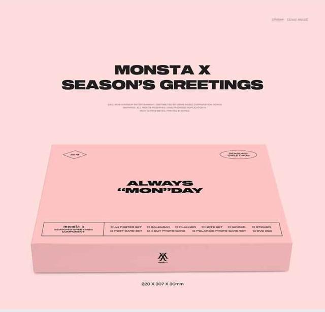 MONSTAX 2019 シーズングリーティング