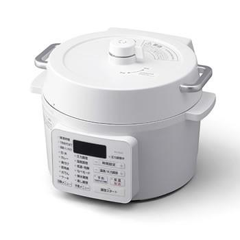 アイリスオーヤマ【IRIS】2.2L 電気圧力鍋 ホワイ...